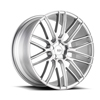 Image of BLACK DI FORZA BM13 SILVER wheel
