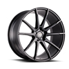 Image of BLACK DI FORZA BM12 MATTE BLACK wheel