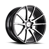 Image of BLACK DI FORZA BM12 MACHINE BLACK wheel