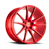 Image of BLACK DI FORZA BM12 RED wheel