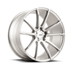 Image of BLACK DI FORZA BM12 SILVER wheel