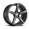 Image of BLACK DI FORZA BM11 MATTE BLACK wheel