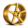 Image of BLACK DI FORZA BM11 GOLD wheel
