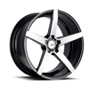 Image of BLACK DI FORZA BM11 MACHINE BLACK wheel