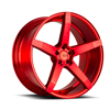Image of BLACK DI FORZA BM11 RED wheel