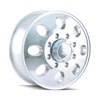 Image of ION 167 SILVER POLISHED FRONT wheel