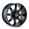 Image of ION 181 BLACK MILLED wheel