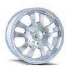 Image of DIP D10 AVENGER FULL SILVER  wheel