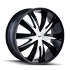 Image of DIP D37 EDGE BLACK wheel