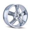 Image of DIP D69 BOOST CHROME wheel