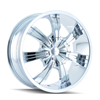 Image of DIP D88 GUNNER CHROME wheel
