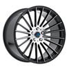 Image of MACH EURO ME18 BLACK MACHINE wheel