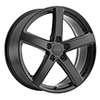 Image of PETROL P2A MATTE BLACK wheel