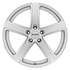 Image of PETROL P2A SILVER MACHINE CUT FACE wheel