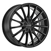 Image of PETROL P3A MATTE BLACK wheel