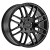 Image of PETROL P6A MATTE BLACK wheel