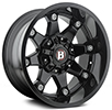 Image of BALLISTIC 581 BEAST GLOSS BLACK wheel