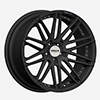 Image of ZENAS Z1  SATIN BLACK wheel
