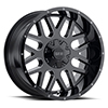 Image of VOXX TRUCK GFX TM4 GLOSS BLACK MILLED wheel