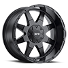 Image of VOXX TRUCK GFX TM12  MATTE BLACK  wheel