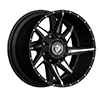 Image of DIABLO OFF ROAD D001 BLACK wheel