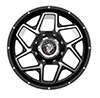 Image of DIABLO OFF ROAD D003 BLACK wheel