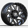 Image of DIABLO OFF ROAD D004 BLACK wheel