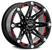 Image of BALLISTIC 814 JESTER RED ACCENTS wheel