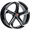Image of REVOLUTION RACING R20 BLACK MACHINED wheel
