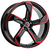 Image of REVOLUTION RACING R20 BLACK RED wheel