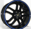 Image of G LINE G817 UL BLACK BLUE LINE wheel