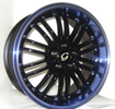 Image of G LINE G820 BLPU Black Blue Lip wheel