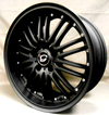 Image of G LINE G820 MB MATTE BLACK wheel