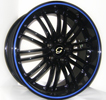 Image of G LINE G820 UL BLACK BLUE LINE wheel