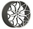 Image of BORGHINI B28 BLACK MACHINE wheel