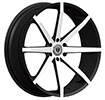 Image of BORGHINI B29 BLACK MACHINE wheel