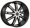 Image of BORGHINI BW9 BLACK wheel