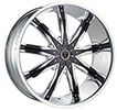 Image of BORGHINI BW9 CHROME wheel