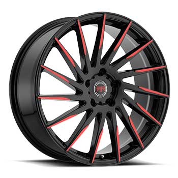 REVOLUTION RACING R15 BLACK RED Black/Red